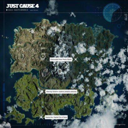 Just Cause 4 Peta Gamenya Sudah Diberitahukan