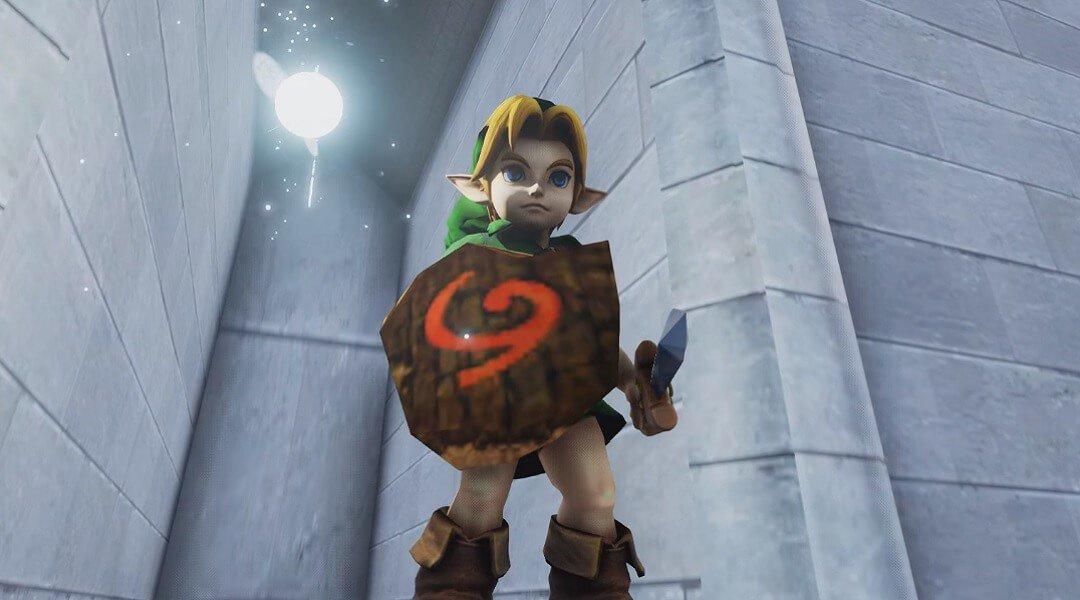 Ocarina of Time UE4 Fan Remake Melakukan Perkembangan Yang Sangat Bagus