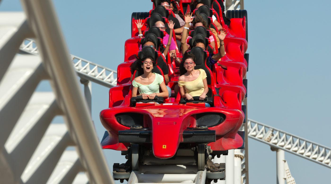 Inilah Roller Coaster Tercepat di Dunia, Bahkan Secepat Mobil Balap F1