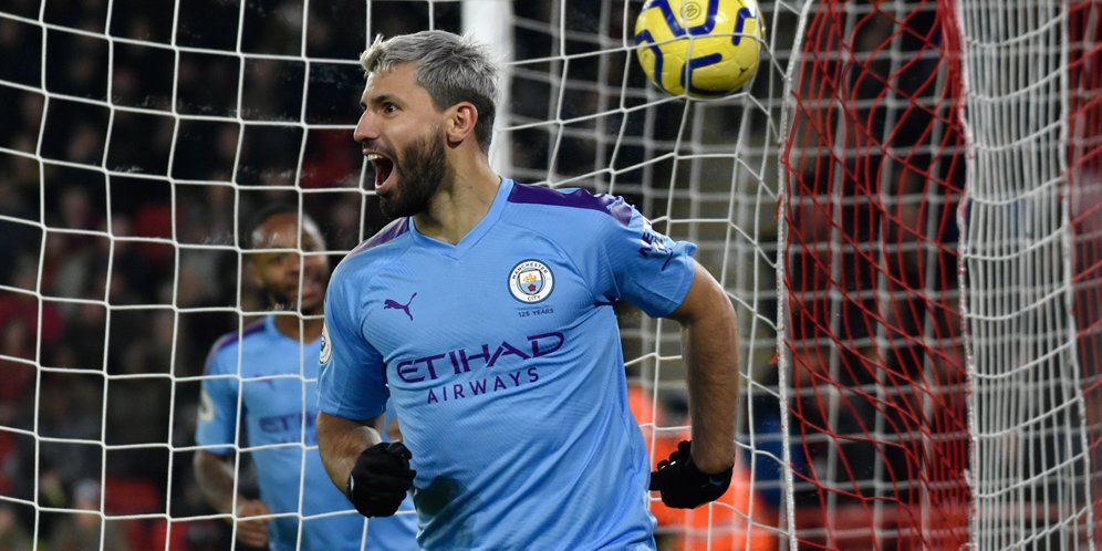 Manchester City Sukses Kalahkan Sheffield United 1-0, Berkat Gol Sergio Aguero