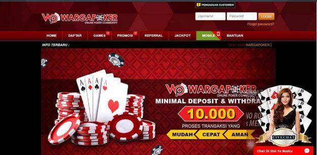 Wargapoker Berikan Kunci Utama Menang Situs Poker Online
