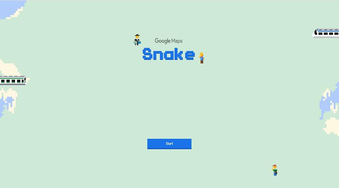 Snake Game Google Maps Ditambahkan Untuk April Mop